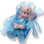 Dikdörtgen Uykucu Bebek Mavi